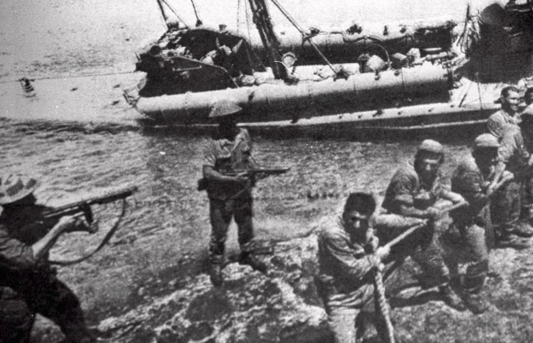 圖為1974年7月,土耳其軍入侵賽普勒斯。此後土耳其建立不受世界普遍承認的北賽普...