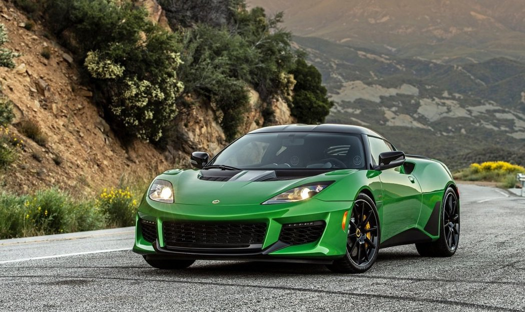 Lotus Evora GT。 摘自Lotus