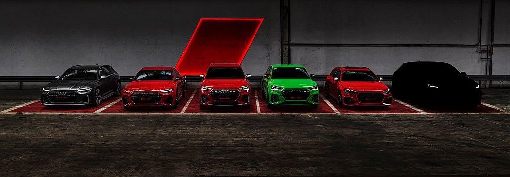 台灣開始接單販售的Audi四環性能家族系列包含Audi RS Q3 Sportb...