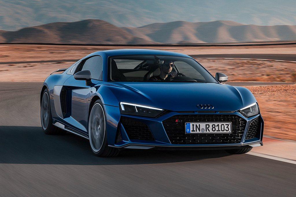 Audi R8 Coupe V10 performance搭載5.2L V10引...