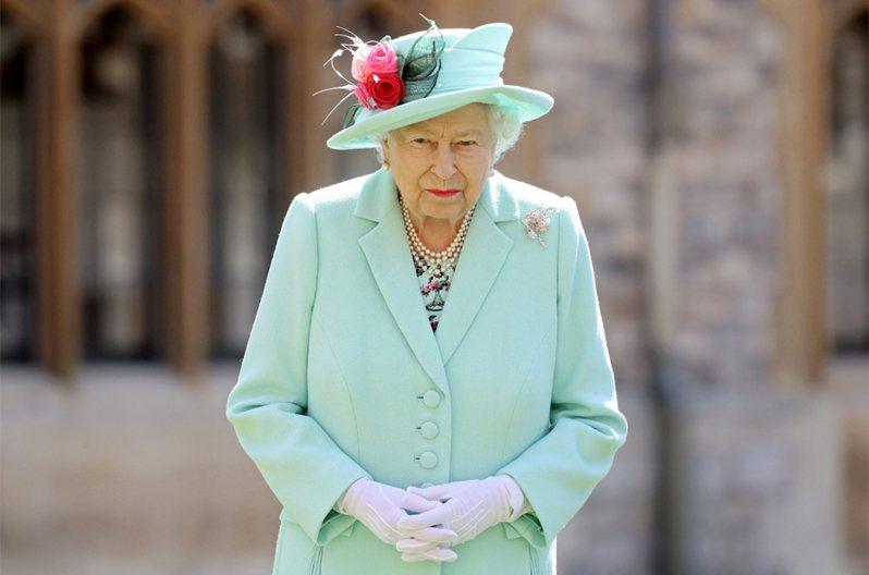 英國女王伊麗莎白二世。 路透