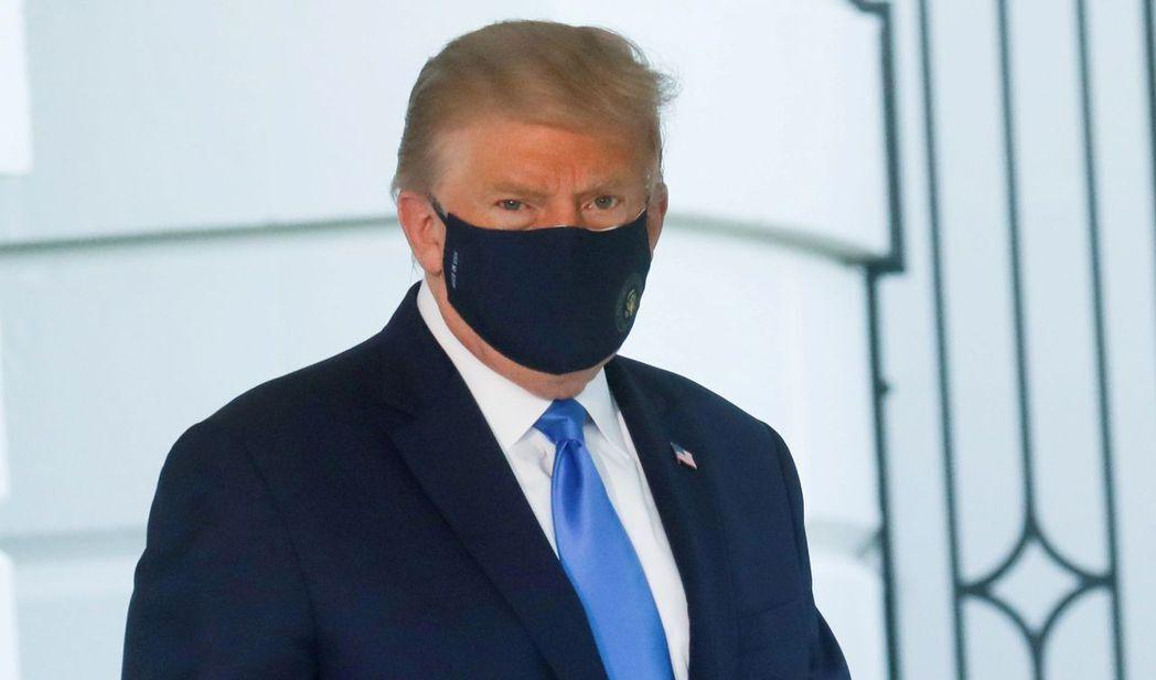 美國總統川普確診新冠肺炎,引發各界開始討論總統大選是否可能延期、若川普須退出選舉時的情況。圖/路透