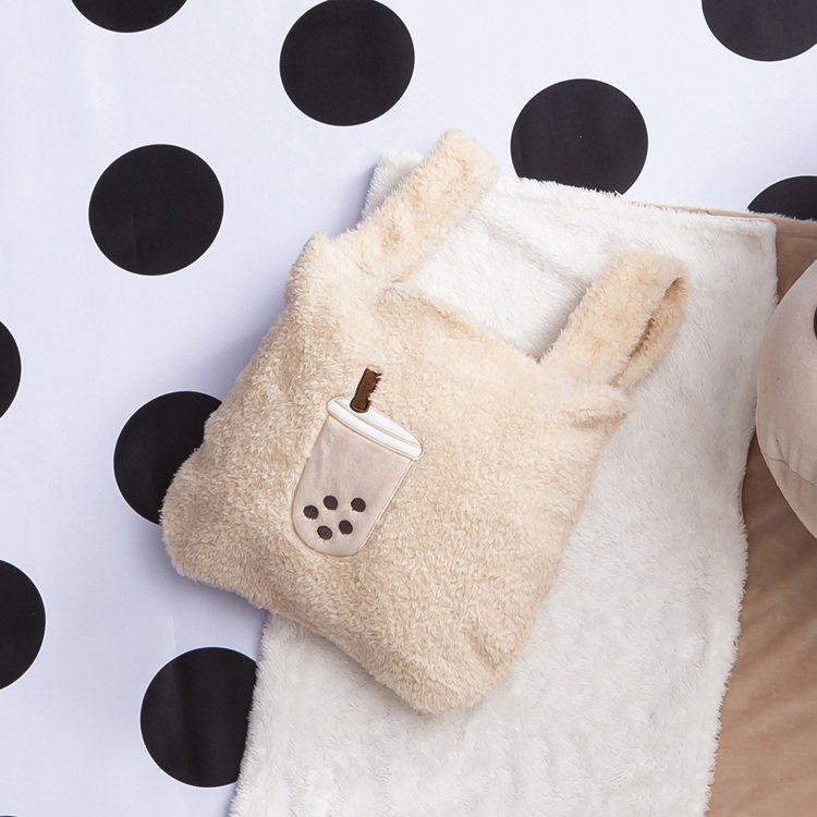 Q珍奶購物袋原價480元,周年慶特價360元。圖/生活工場提供