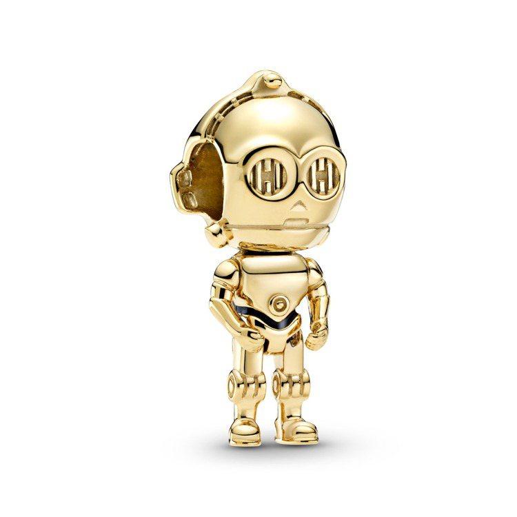 Star Wars™ x Pandora限定系列星際大戰「C-3PO™」造型串飾...