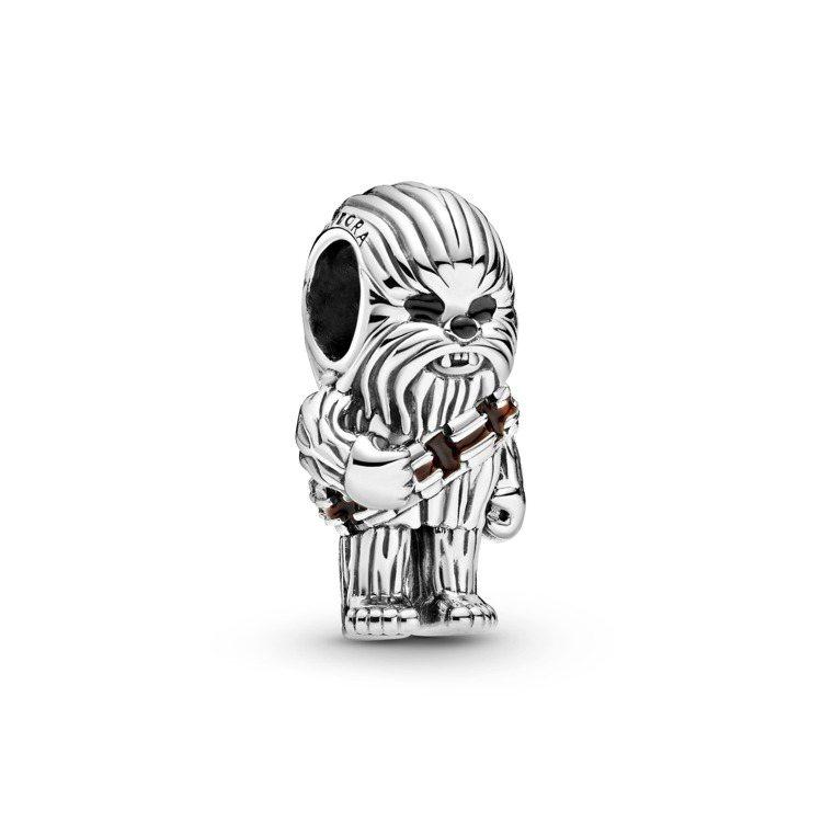 Star Wars™ x Pandora限定系列星際大戰「丘巴卡」造型串飾,2,...