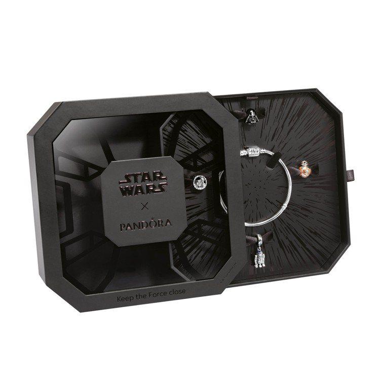 Star Wars™ x Pandora原力同在聯名限定禮盒(不含圖中手鍊串飾)...