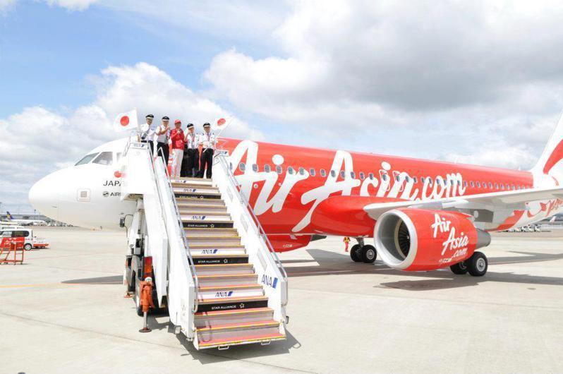 日本亞洲航空。(擷取自AirAsiaTaiwan臉書)