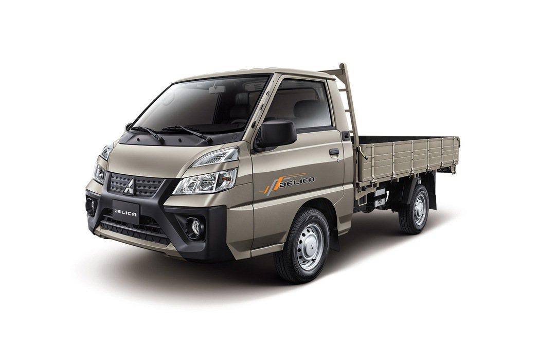 得利卡推出富利金新車色。 圖/中華三菱提供