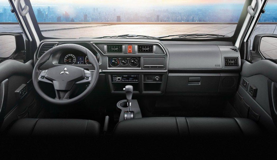 得利卡全車系搭載藍芽音響,使用更便利。 圖/中華三菱提供