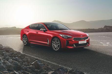 只剩3.3升V6可以選了 小改款歐規Kia Stinger正式亮相!