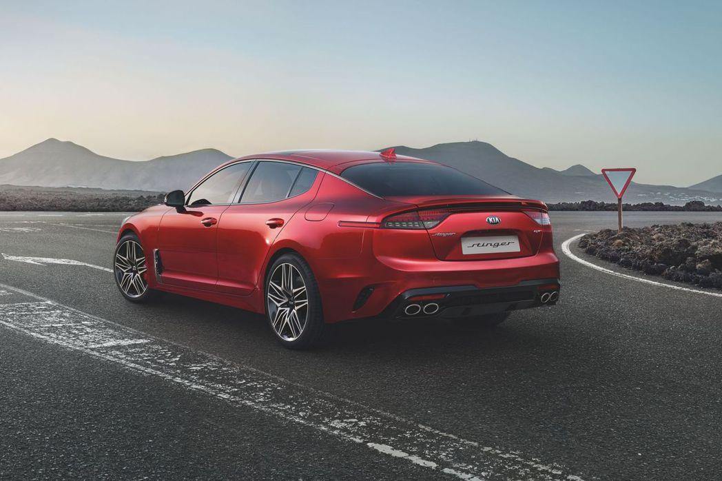 小改款歐規Kia Stinger在今年第四季就會於歐洲市場販售。 摘自Kia