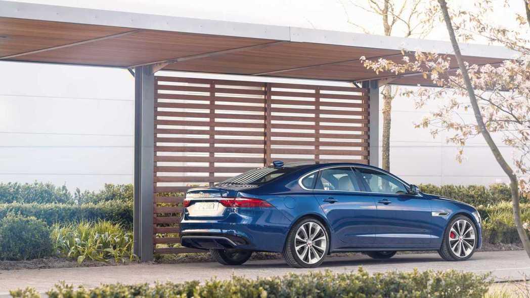 2021 Jaguar XF。 摘自Jaguar