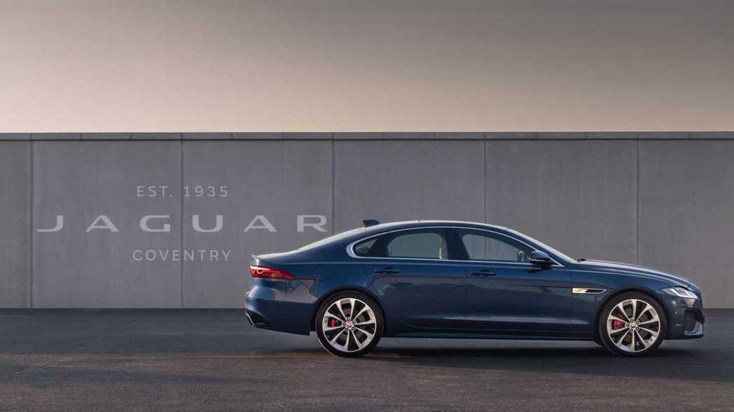 2021年式Jaguar XF小改款登場。 摘自Jaguar
