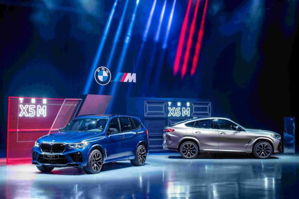 全新世代BMW X5 M, X6M雙霸登場。 圖/汎德提供