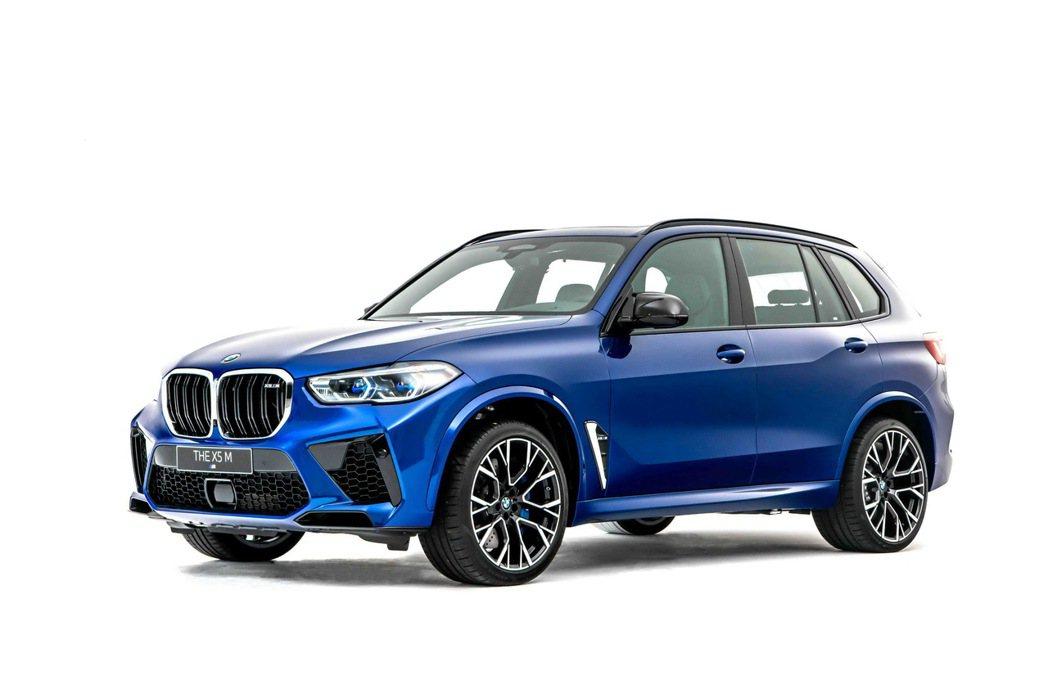 全新世代BMW X5 M 鼓譟跑魂的豪華運動休旅。 圖/汎德提供