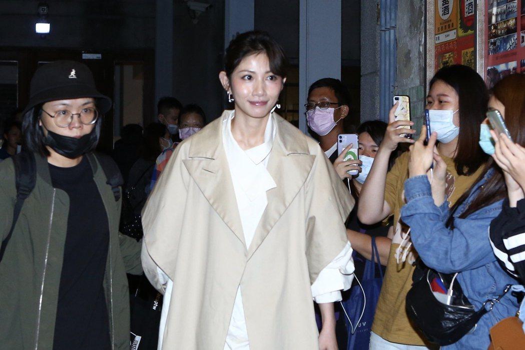 李千那出席黃鴻升「地球上最浪漫的演唱會」追思音樂會。記者林俊良/攝影