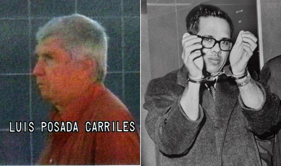 卡里萊斯(左)及博許(右)是反卡斯楚份子當中,直接從事最多恐怖部署及行動的人。 ...