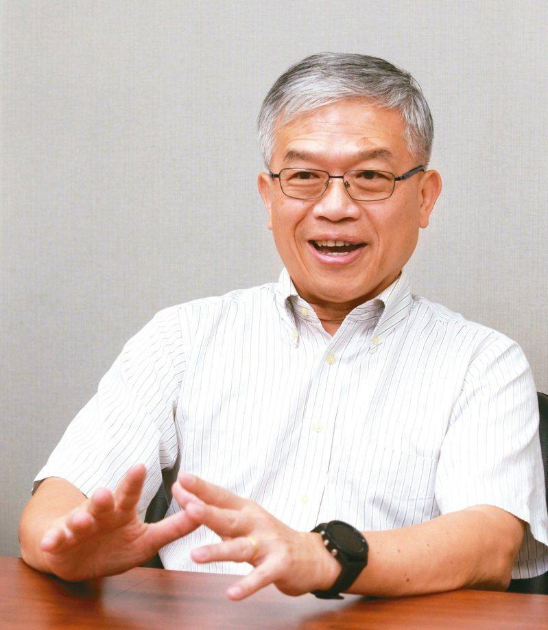 貿聯董事長梁華哲。報系資料照
