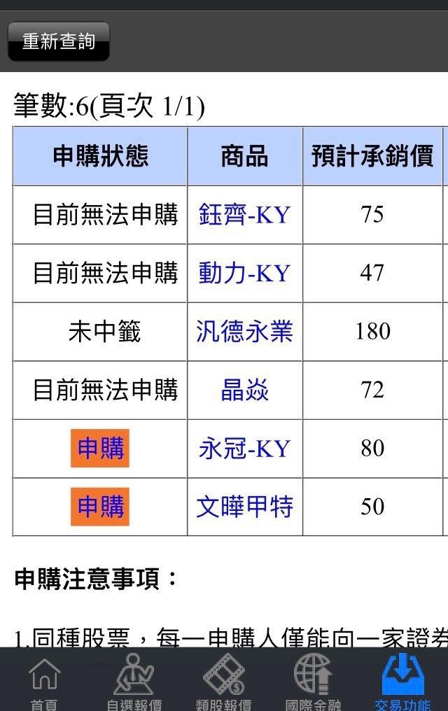 辦理現增申購的永冠-KY(1589)累積投標單也突破3.3萬筆,認購倍數逼近80倍。 圖/讀者提供
