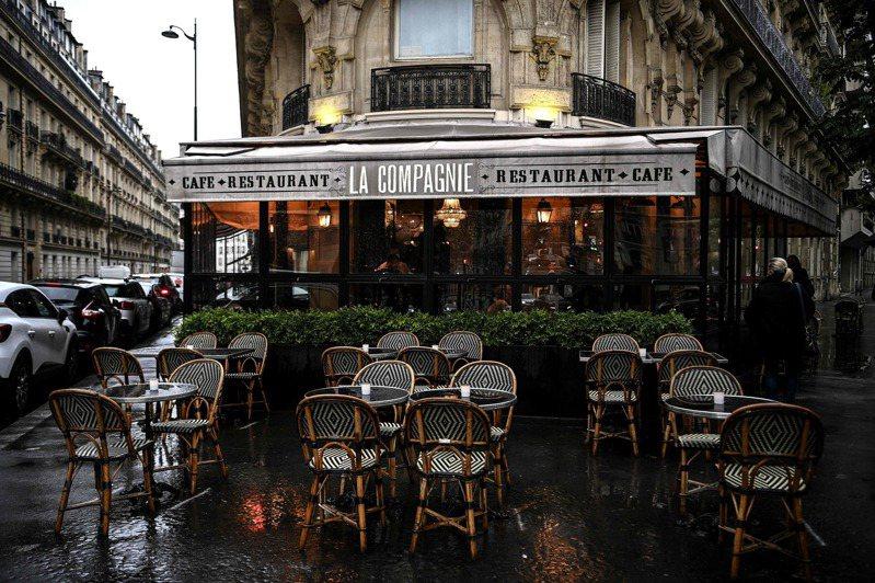 巴黎疫情級別上調至最高,咖啡被禁止營業。(Getty Images)