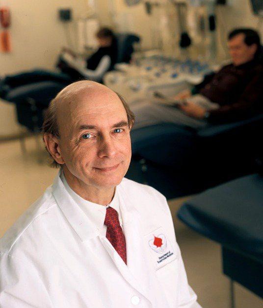 2020年諾貝爾醫學獎得主阿特爾(Harvey J. Alter)。美聯社