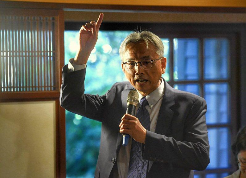 前總統府秘書室主任蘇志誠。中央社資料照