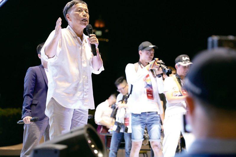 2019年,王小棣受邀擔任凱道同婚宴的證婚人,歡慶台灣成為亞洲第一個同婚合法國家。(圖/台灣伴侶權益推動聯盟)