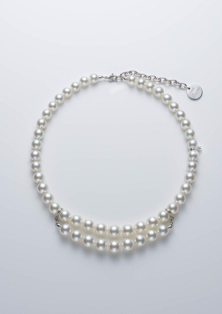 MIKIMOTO COMME des GARÇONS聯名系列南洋珍珠串鍊,價格店...