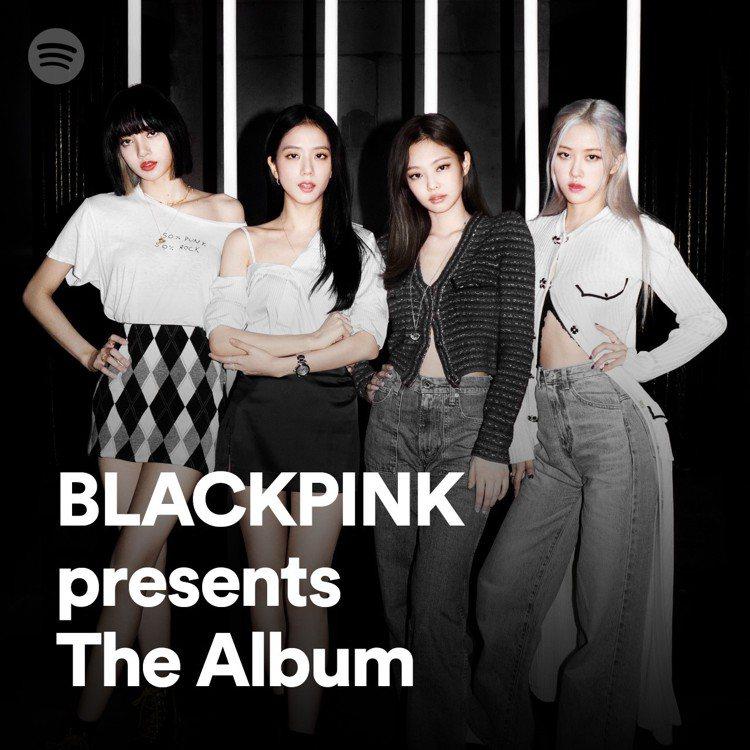 BLACKPINK在Spotify推出最新專輯《THE ALBUM》及獨家影音內...