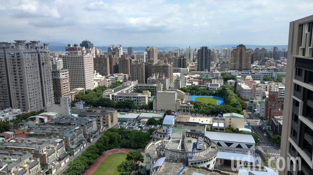 今年上半年全台住宅開工量逾6萬戶,又以台中居六都之冠。 記者趙容萱/攝影
