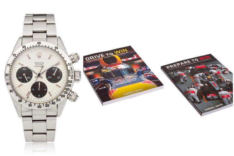 曾為賽車傳奇人物Carroll Smith所擁有的勞力士編號6265迪通拿計時腕...