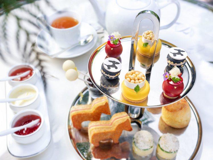 文華東方快閃店 X 陳季敏推出聯名快閃下午茶。圖/台北文華東方酒店提供