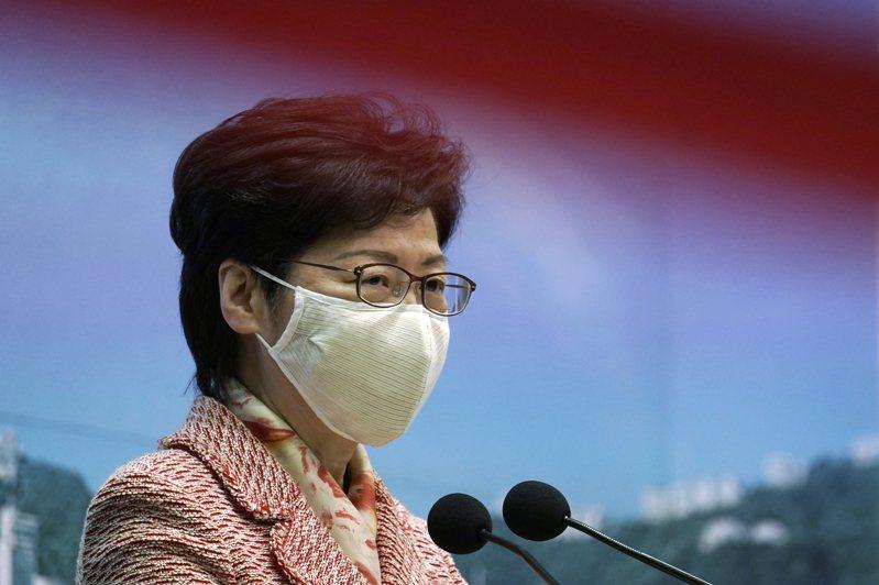 香港特區行政長官林鄭月娥。美聯社