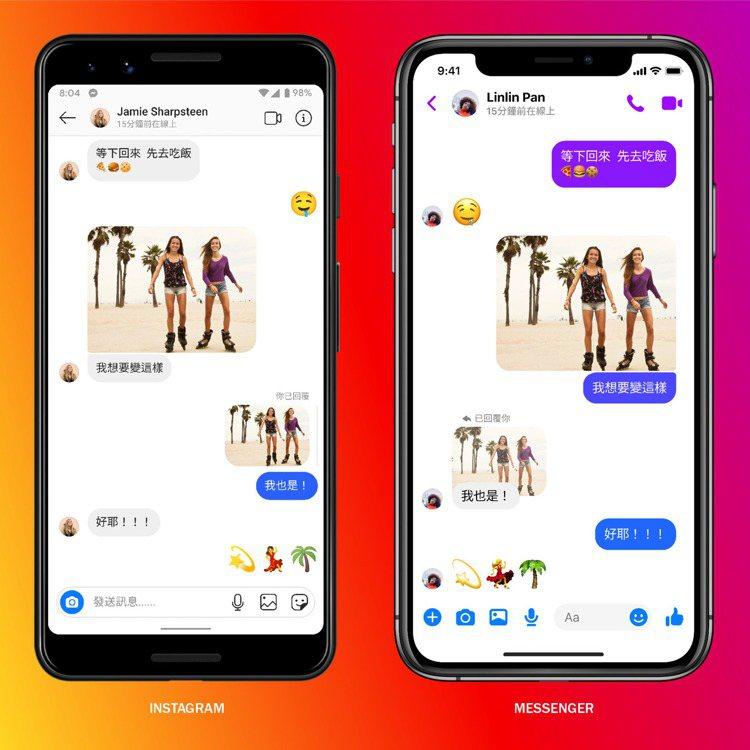 Facebook宣布整合Messenger及Instagram訊息,讓跨平台通訊...