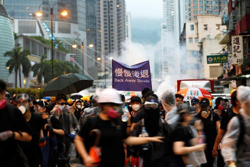 圖為香港反送中遊行。路透