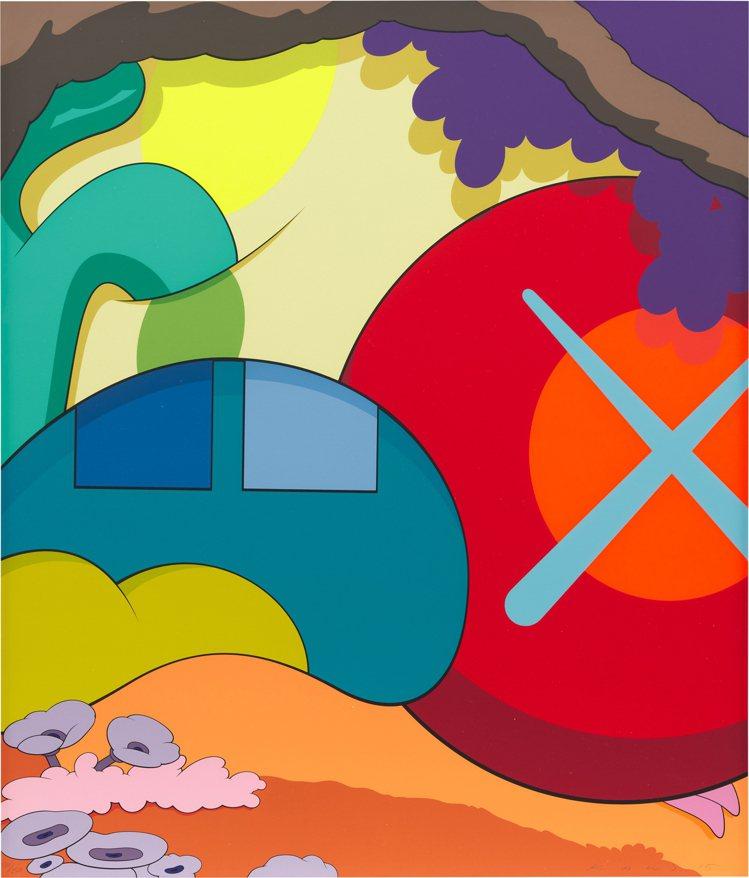 富藝斯「24/7」當代藝術網拍推出KAWS「你應該知道我知道」,估價80,000...