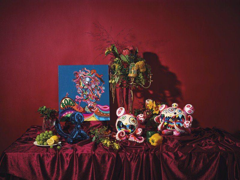 佳士得「現代及當代藝術網拍:流動的盛宴」。圖/佳士得提供