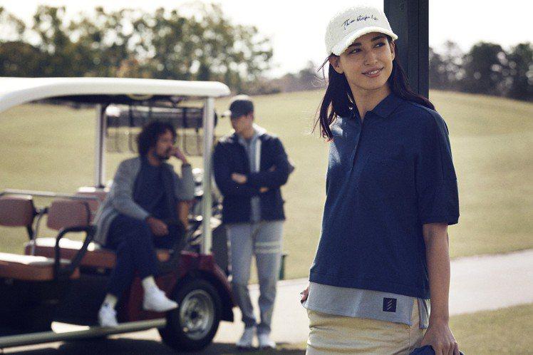 adidas Golf則推出秋冬款adicross系列服飾,沿襲一貫冷調配色,並...