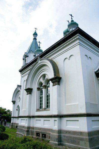 函館哈利斯特斯教堂。圖/摘自原點出版社、「日本一日遠方」作者張維中
