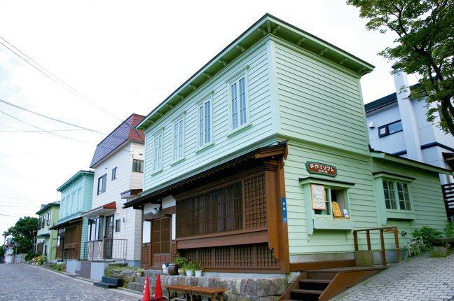 函館市區散步。圖/摘自原點出版社、「日本一日遠方」作者張維中