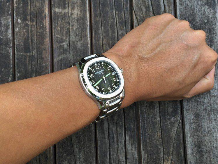 PATEK PHILIPPE Aquanaut 5167。圖/Luis提供