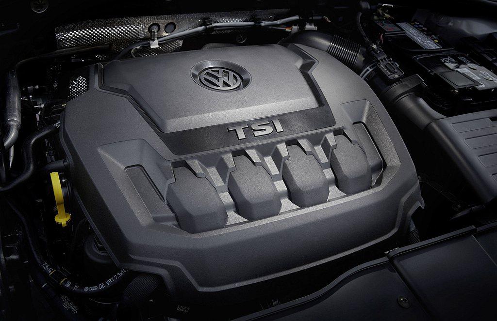 福斯T-Roc 280 TSI搭載最新1.5升渦輪增壓引擎,並具備ACT主動式汽...