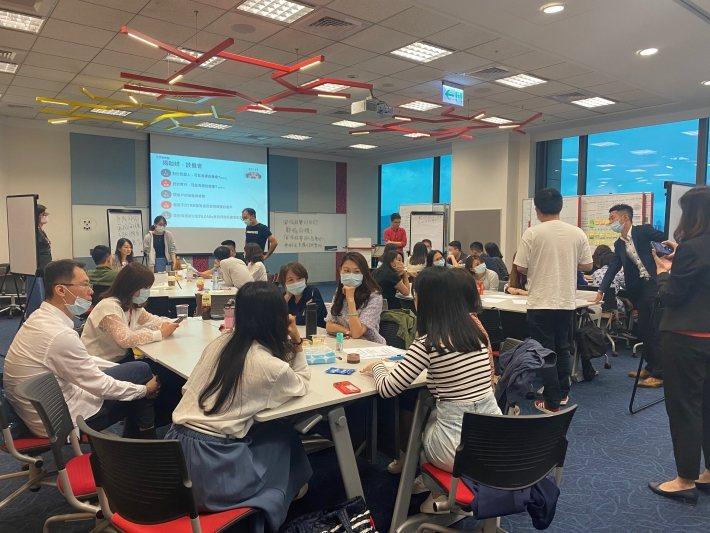 星展銀行(台灣)內部教育訓練。(來源:星展銀行(台灣))