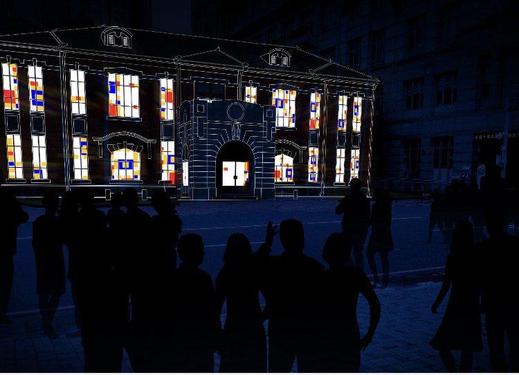 「光動域」光雕藝術。 照片來源/PeilingLin