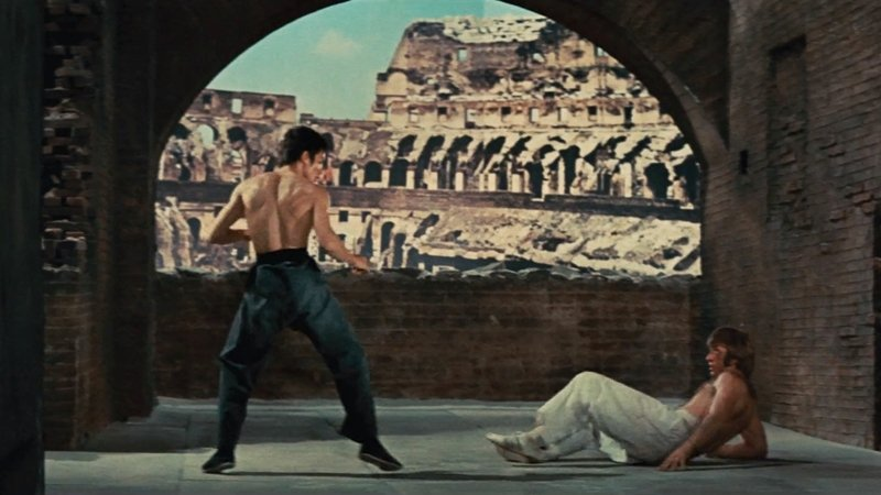 《猛龍過江》(1972)劇照。 圖/IMDb