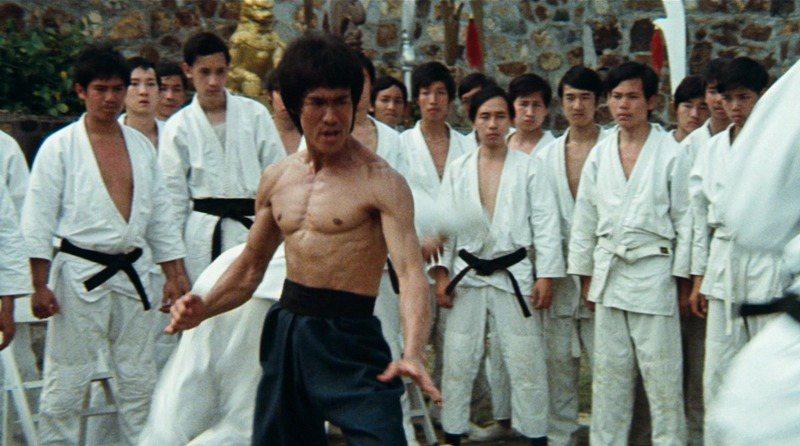 《龍爭虎鬥》(1973)劇照。 圖/IMDb
