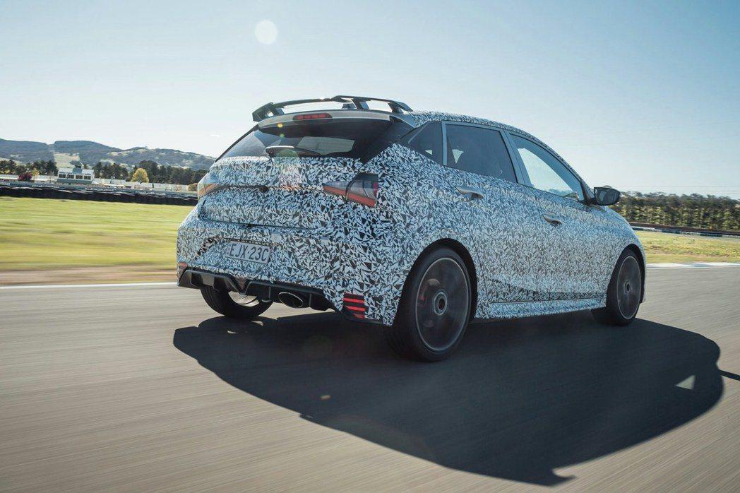 全新Hyundai i20 N可望搭載最大馬力達201hp的1.6升T-GDi渦...