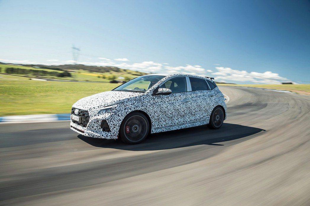 全新Hyundai i20 N性能小車即將推出。 摘自Hyundai Au