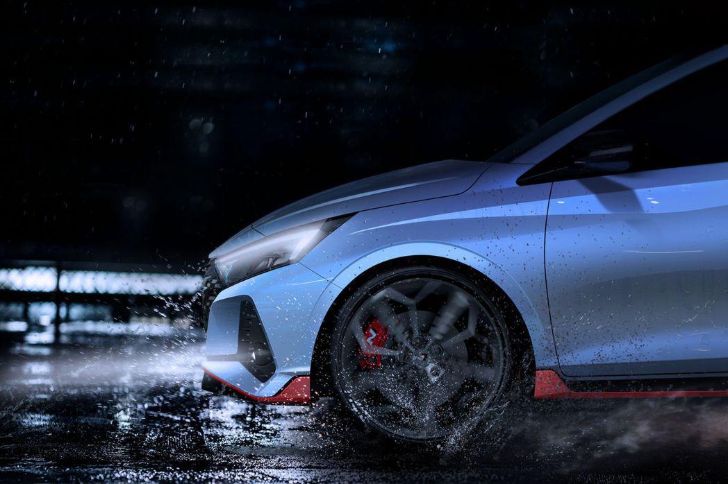 全新Hyundai i20 N預告發表。 摘自Hyundai