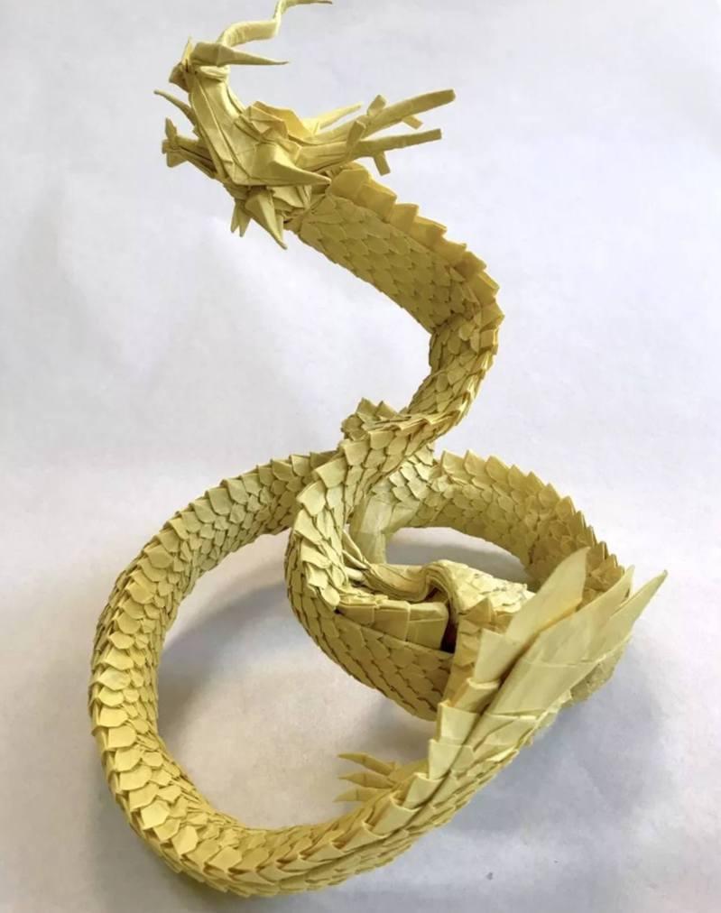 作為一個官方組織,日本摺紙學會會定期展示摺紙愛好者的傑出作品。 圖/origamihouse.jp